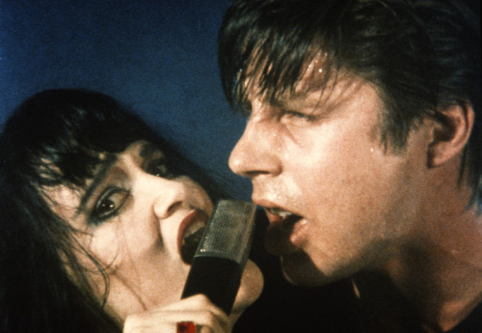 Exene Cervenka and John Doe of X
