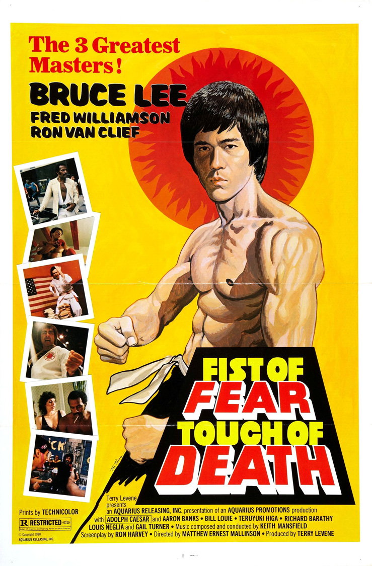 Fist of fear touch of death poster 01.jpg