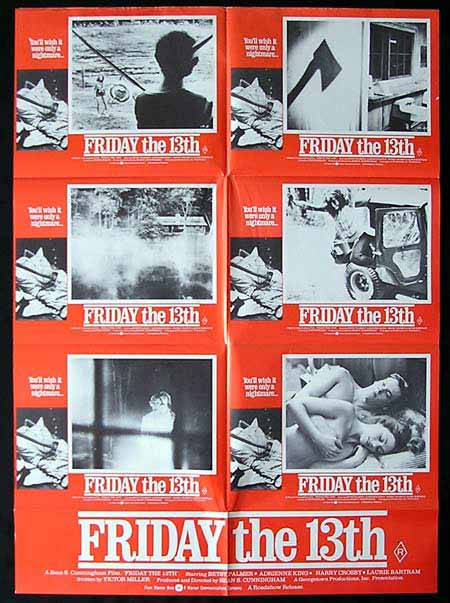 friday the 13th  press kit
