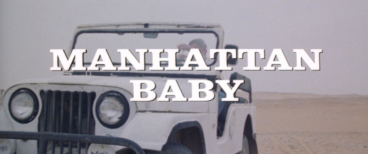 Manhattan Baby BluRay review