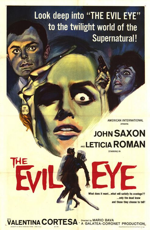 POSTER - THE EVIL EYE (THE GIRL WHO KNEW TOO MUCH).JPG