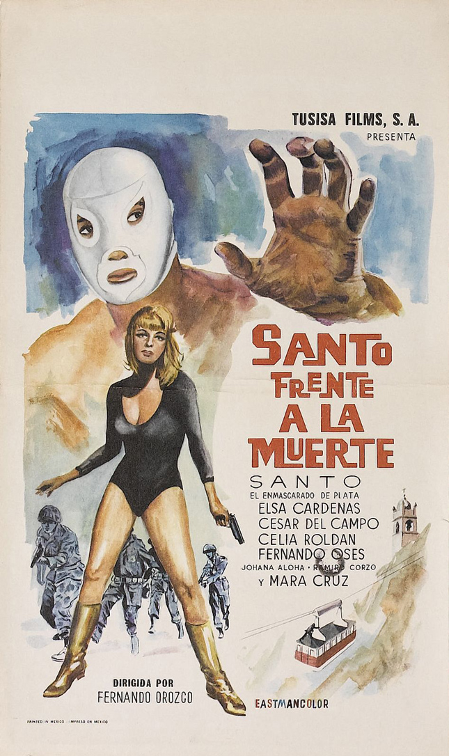 Santo faces death poster 01.jpg