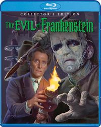 The Evil of Frankenstein BluRay