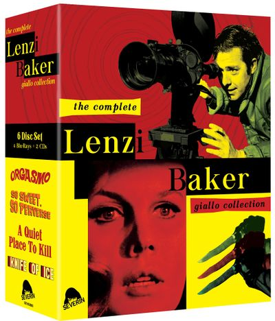 The Complete Lenzi Baker Collection BluRay