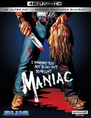 Maniac 4K BluRay