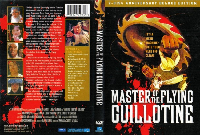 master of the flying guillotine  press kit