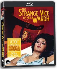 The Strange Vice of Miss Wardth BluRay
